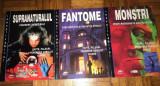 Colectie 3 enciclopedii despre supranatural, fantome si monstri