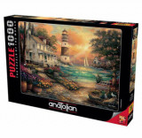 Cumpara ieftin Puzzle Anatolian Cottage by the Sea, 1000 piese