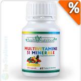 Cumpara ieftin Multivitamine si Minerale 120cps. Health Nutrition