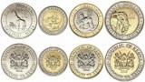 KENYA █ SET COMPLET DE MONEDE █ 1, 5, 10, 20 Shillings █ 2018 █ UNC
