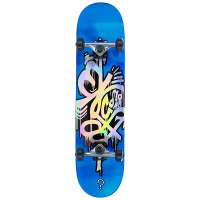 Skateboard Enuff Hologram blue 32x8inch foto