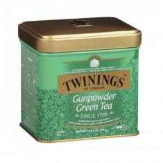 Twinings Ceai Verde Gunpowder 100g cutie metal
