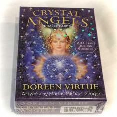 Crystal Angels-CARTI ORACOL/TAROT CRISTALE&INGERI-ORIGINALE/SIGILAT-LIVRARE 24h