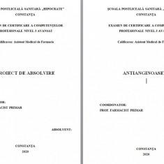 LUCRARE DE LICENTA AMF – ANTIANGINOASELE (1)