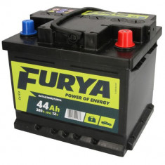 Baterie FURYA 12V 44Ah 380A (R+ Borna standard) 207x175x175 B13 - flansa montare 10.5 mm (Pornire)