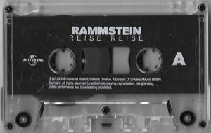 Caseta Rammstein – Reise, Reise