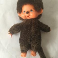 Monchhichi Sekiguchi, maimutica maimuta jucarie plus 20 cm, vintage