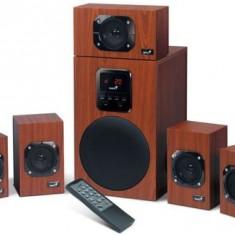 Boxe Genius SW-HF5.1 4800 II, 5.1, 125W, telecomanda wireless (Maro)