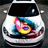 """Sticker Imprimat Color pentru Capota """"Hood Art"""" cod: KM-HOOD-39"""