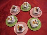 SET CAFEA PORTELAN SILEA FRANTA - CESTI SI FARFURII
