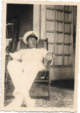 Fotografie ofiter roman aviatie perioada regalista