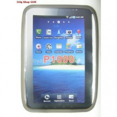 Husa Silicon Samsung P1000 Galaxy Tab Gri