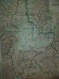 HARTA JUDETULUI BRASOV 1922