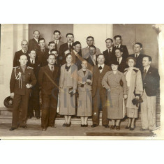 IOSIF BERMAN - FOTO DELEGATIE , CONGRES, ROMANIA, ANII ' 30