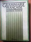 Grammaire Francaise quatrieme-troisieme-Bordas