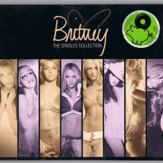 CD Britney Spears ‎– The Singles Collection , original, holograma