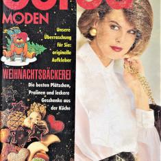 Burda revista de moda  47 tipare 11/1992  (croitorie)
