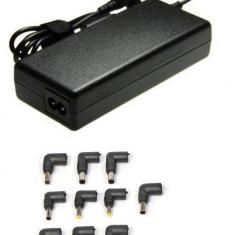 Incarcator Universal Laptop Notebook cu USB si Voltaj Automatic 120W