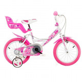 Bicicleta copii 14'' RN PlayLearn Toys, Dino Bikes