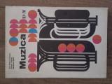 MUZICA - MANUAL PENTRU CLASA  III-IV - ANA MOTORA-IONESCU, 1972