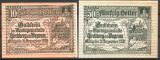 !!! AUSTRIA - LOT NOTGELD KIRCHBERG AM WAGRAM 1920 - UNC / CELE DIN IMAGINE