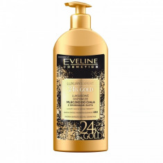 Lotiune de corp Eveline Cosmetics Luxury Expert 24K Gold 350 ml