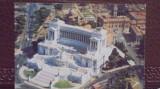 ITALIA - ROMA - ALTARE DELLA PATRIA SI CAPITOLIU - VEDERE AERIANA - NECIRCULATA, Fotografie