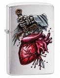 Brichetă Zippo 29406 Dagger Through Heart