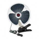 "Ventilator oscilant Chrome - Fan Ø 8"" din metal 24V ManiaMall Cars"