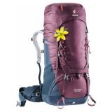 Cumpara ieftin Rucsac aircontact 50+10 sl blackberry-navy femei trekking deuter