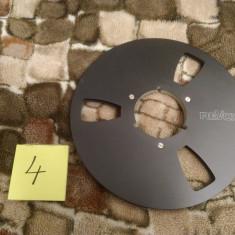 4. Rola Magnetofon REVOX metalica 26cm-Black (Akai,Teac,Tascam,Agfa,BASF)