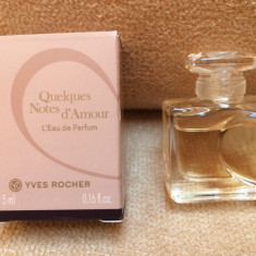 Mini Parfum Quelques Notes d'amour by Yves Rocher (5 ml)