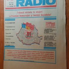 revista tele-radio saptamana 21-27 noiembrie 1982