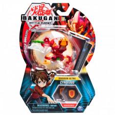 Figurina Bakugan Ultra Battle Planet, 9A Fire Knight Red, 20109020