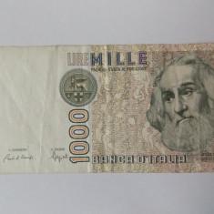 Bancnote Italia 1000 lire