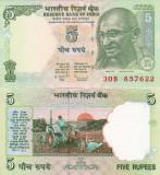 INDIA 5 rupees 2010 UNC!!!