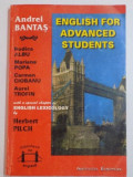 ENGLISH FOR ADVANCED STUDENTS de ANDREI BANTAS , RODICA ALBU , MARIANA POPA .. , IASI 1993