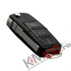 Carcasa cheie briceag VW, Skoda, Seat, 3 butoane