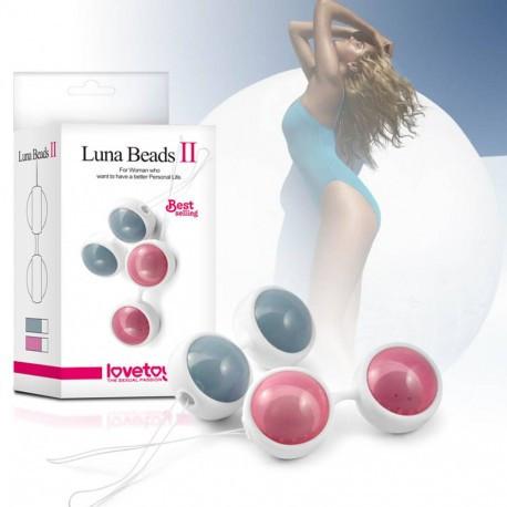 Bile Kegel - LUNA BEADS II Pink