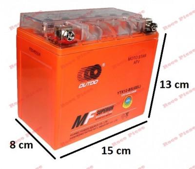 Baterie gel Scuter, Atv 12ah 12v Gel foto