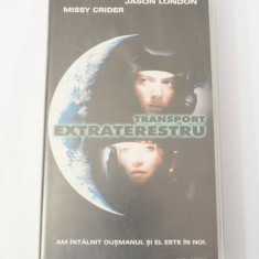 Caseta video VHS originala film tradus Ro - Transport Extraterestru