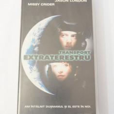 Caseta video VHS originala film tradus Ro - Transport Extraterestru