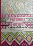 Adult colouring book. Patterns & Motifs. Colour & Doodle/***