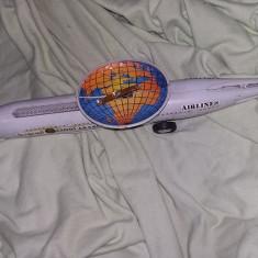 Macheta veche Airlines Saudi Arabian A380,KING AIR,Incomplet,Tp.GRATUIT