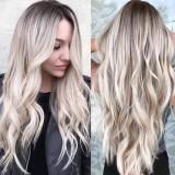 Peruca par natural baby grey 55cm - Full Lace