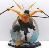 Figurina Zoro Santoryu One piece 17 cm anime