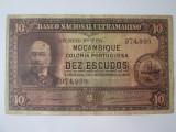 Cumpara ieftin Rara! Mozambic 10 Escudos 1945