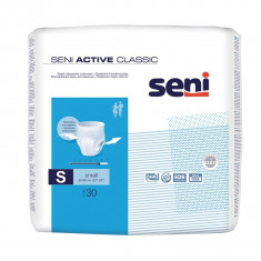 Chilot elastic absorbant adulti Seni Activ Classic, Small, 30 buc