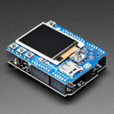 "Shield cu Display Color Adafruit de 1.8"" cu Slot MicroSD si Joystick"