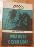 Muntii Ceahlau de Mihai Gabriel Albota. Contine harta